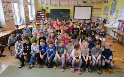 Školní kolo v recitaci, 21. 2. 2020